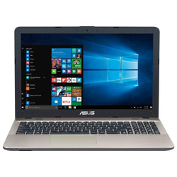 "ASUS VivoBook X541NA-RS91-CB 15.6"" Laptop with Intel® N4200 Quad-Core 1.1GHz, 1TB HDD, 8GB RAM, Webcam, HDMI, Windows 10 Home 64bit"