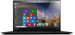 "Lenovo Thinkpad X1 Carbon 3rd G Ultrabook: Intel i5-5300U 2.3GHz, 8GB, 256GB SSD, 14"", Webcam, HDMI, Win 10 Pro - Refurbished"