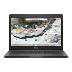 "Dell Chromebook 3400: Intel N4000 Dual Core, 4 GB RAM, 64 GB eMMC, 14"" HD Display, Webcam, Chrome OS – Refurbished"