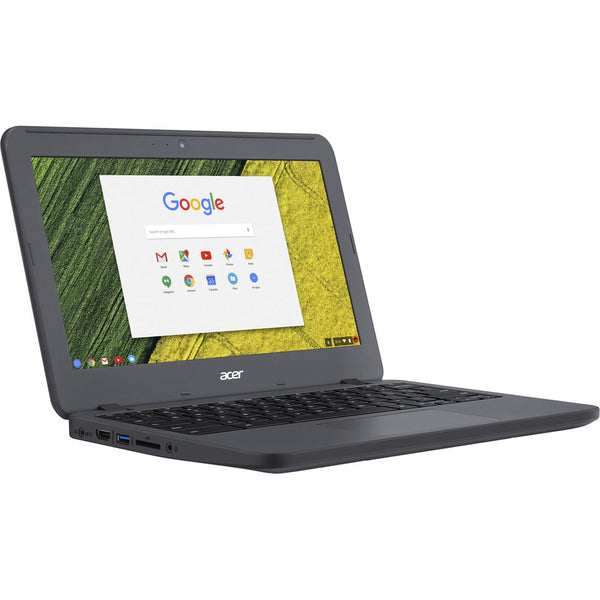 "Acer Chromebook C731: Intel Celeron N3060 Dual Core 1.60GHz, 4GB RAM, 16GB SSD, 11.6"", Webcam, Chrome OS – Refurbished"