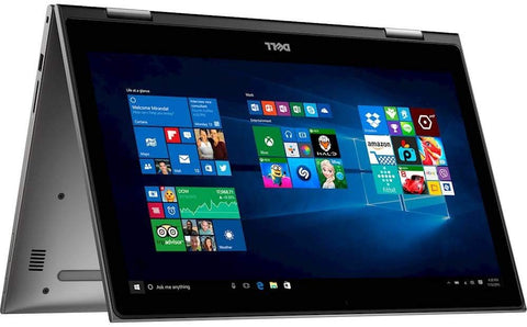 "Dell Inspiron 15-7573 2-in-1: i5-8250u Quad-Core 1.6GHz, 8GB DDR4, 256GB SSD, 15.6"" FHD IPS Touch, Win10 Home, Backlit KB – Refurbished"