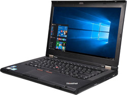 "ThinkPad Laptop T430 Intel Core i5 3rd Gen 3320M (2.60 GHz) 4 GB Memory 320 GB HDD Intel HD Graphics 4000 14.0"" Windows 10 Pro 64-Bit"