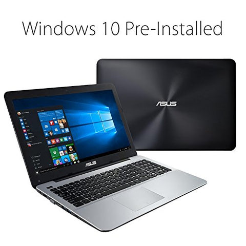 "Asus X555d Full HD 15.6"" Laptop (AMD A10-8700P Quad Core Processor with Radeon R6 Graphics 1.8GHz Turbo to 3.2GHz, 8GB RAM, 1TB HDD, DVDRW, 802.11ac, Bluetoovh, HDMI, Webcam, Windows 10 Home 64bit)"