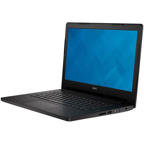 "Dell Latitude 3470: Intel i5-6200U 2.3Ghz / 8G RAM / 500GB HDD / Webcam / HDMI / 14"" Display / Win10 pro - Refurbished"