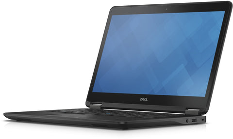 "Dell Latitude E7450: i5-5300U 2.3GHz, 8G, 256GB SSD, Webcam,  HDMI, mini Display, 3x USB3, 14"", win 10 pro - Certified Refurbished"