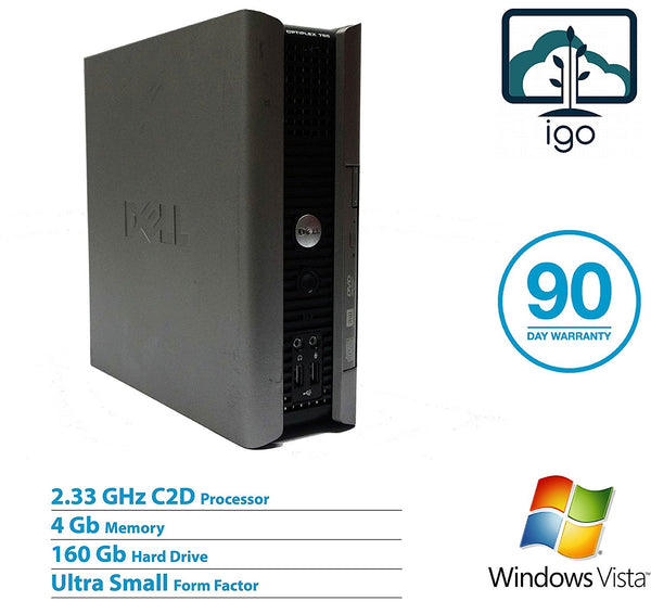 DELL Optiplex 755 Ultra Small(Core2Duo 2.33G/4G RAM/160G HDD/ WinVista)