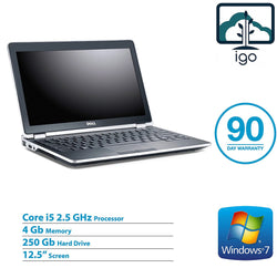 "DELL Latitude E6220 12.5"" laptop (Intel Core i5 2.5G /4G DDR3/250G HDD/ Win7 Pro)"