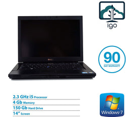 "DELL Latitude E6410 14"" laptop (Intel Core i5 2.3G /4G DDR3/160G HDD/ Win 7 Pro)"