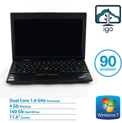 "LENOVO Thinkpad X120e 11.6"" laptop (AMD Dual Core 1.6G/4G DDR3/160G HDD/Win7 Home)"