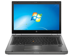 "HP Work Station Elitebook 8470w: i5 3360 2.8GHz / 8G RAM / 320GB HDD / DVDRW / webcam / 14"" Display /AMD FirePro M2000 1Gb dedicated Video Card / Windows 7 pro"