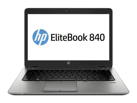 "HP Elitebook 840 G2: i5-5300u 2.3GHz / 8G RAM / 128GB SSD / webcam / 14"" Display 1920x1080 / Backlit KB / Windows 10 pro / No Optical Drive"
