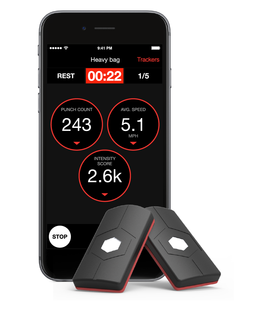 Boxing, Martial Arts & Mma Sporting Hykso Wearable Punch Tracker