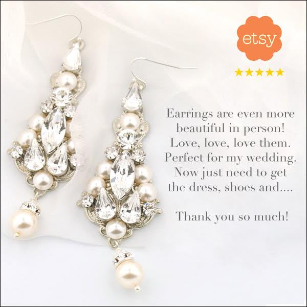 Bride reviews: St John earrings