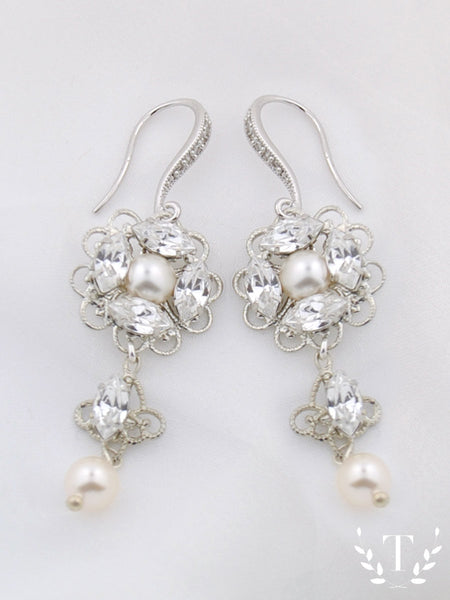 New Wedding Earrings: Kensington