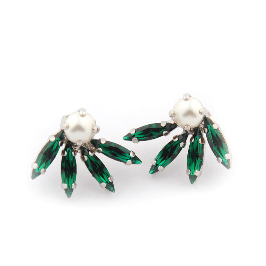 Mistletoe earrings