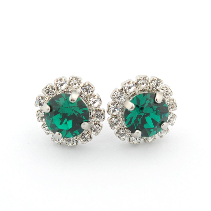 Embellished crystal studs