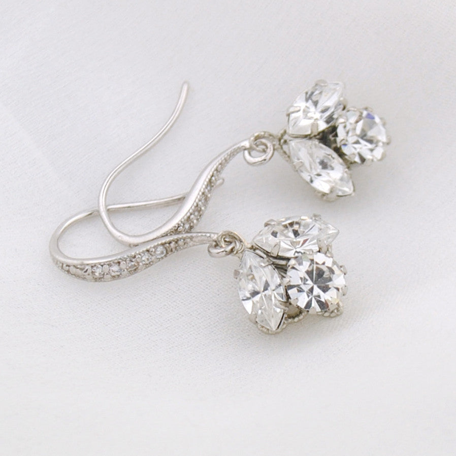 Idaho crystal earrings