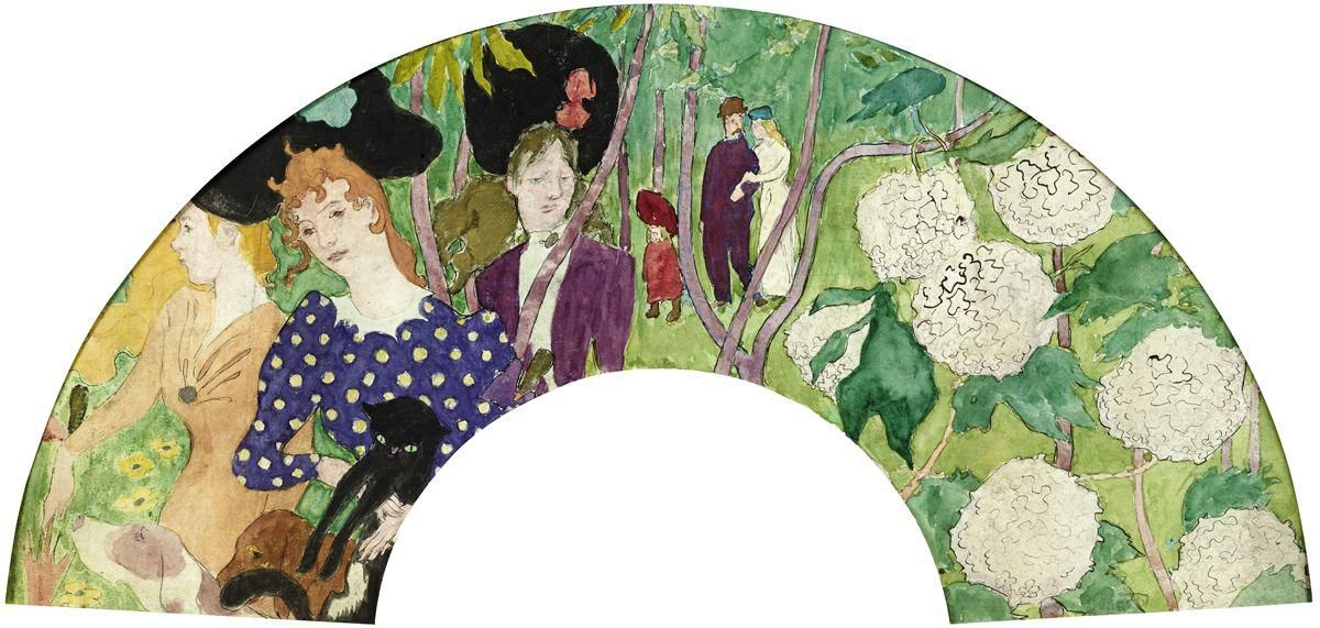 Pierre Bonnard and the Fascinating Connection between Him, the Impressionists and Hand-fans