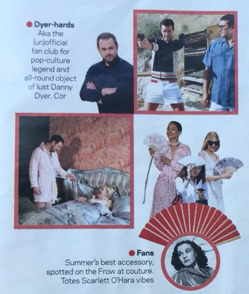 "FANS ""HOTTING UP"" in SUNDAY TIMES'S STYLE MAGAZINE"