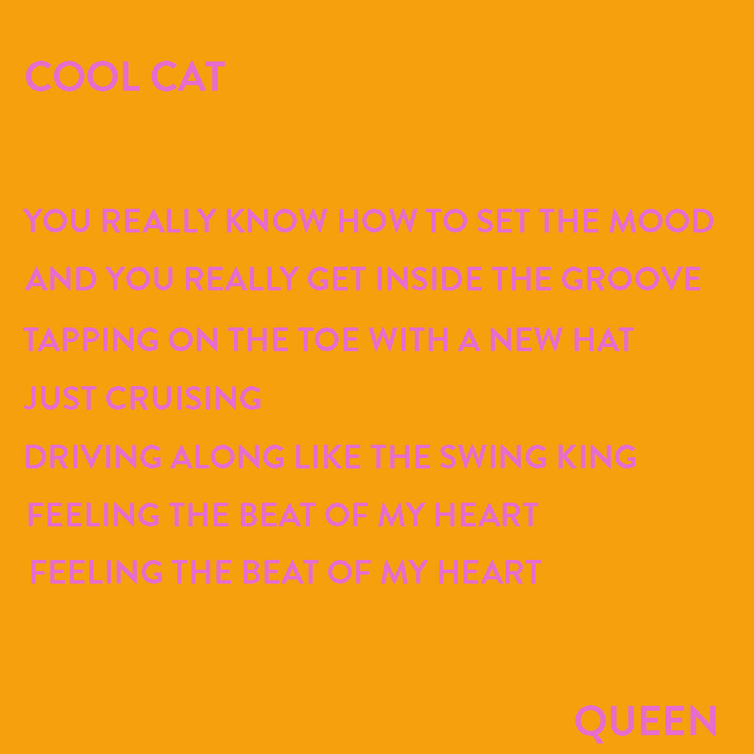 COOL CAT - QUEEN