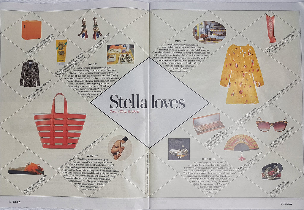 Stella Loves from Stella Magazine, The Telegraph Fashion Supplement, May 2018