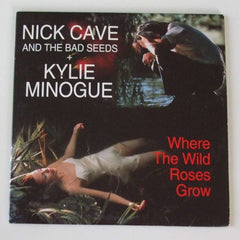 Nick Cave and Kylie Minogue Album cover for Where the wild roses grow