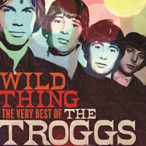 The Troggs Wild  Thing Album Cover with all members of band