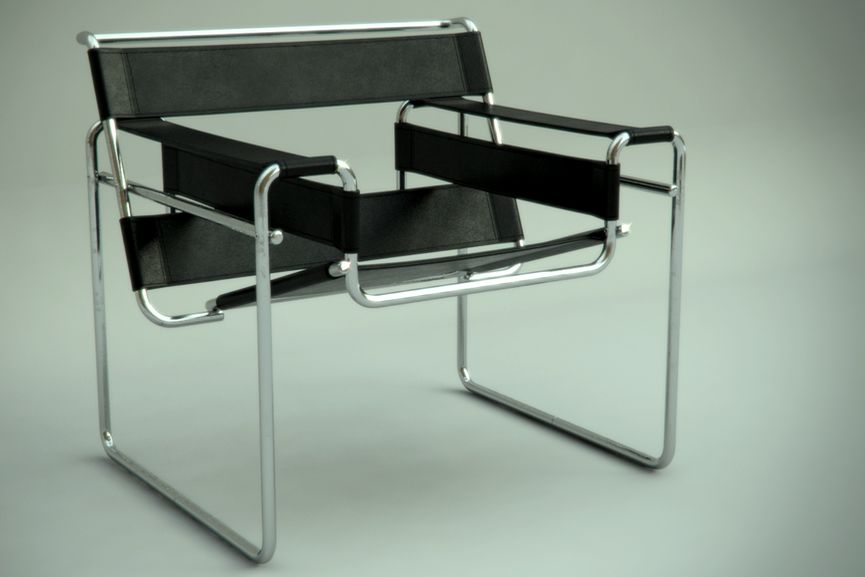 Marcel Breuer, The Wassily Chair, Marcel Breuer, 1925
