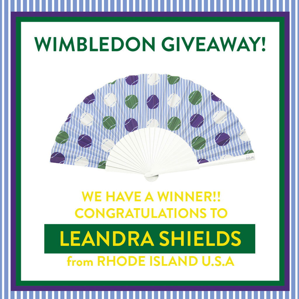 Wimbledon, Khu Khu, Hand-fan, winner, competition, balls, pin-stripe