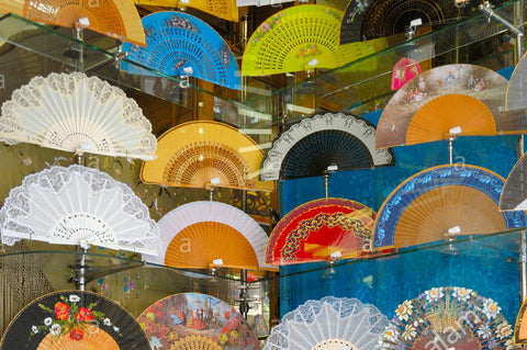 Traditional Hand-Fans in Seville, Andalucia