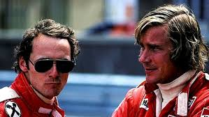 Picture of Nick Lauda and James Hunt in their heyday