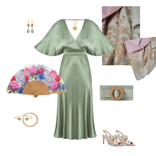 Khu Khu SPRING hand-fan WEDDING style up with images of other fashion brands