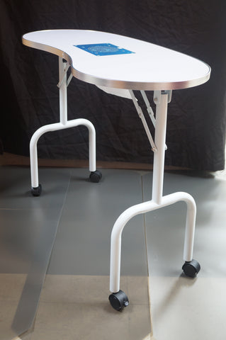 Portable Nail Table with an Extractor – Nails & TABOO