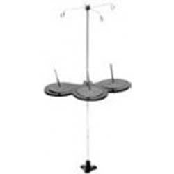 3 SPOOL THREAD STAND, CAST IRON BASE (INDUSTRIAL) - sewingpartsguru.com
