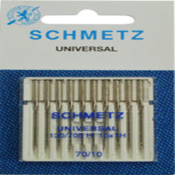 "SCHMETZ NEEDLE REGULAR 12"", ............10PCS/CARD"
