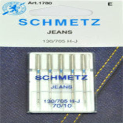 "SCHMETZ NEEDLE- DENIM 14"", ............5PCS/CARDED"