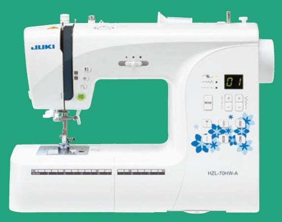 Juki HZL-H Series Computer Sewing Machine with 80 Sewing Patterns - HZL-70HW-A
