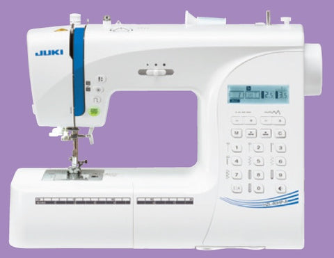 Juki HZL-H Series Computer Sewing Machine with 197 Sewing Patterns - HZL-80HP-A