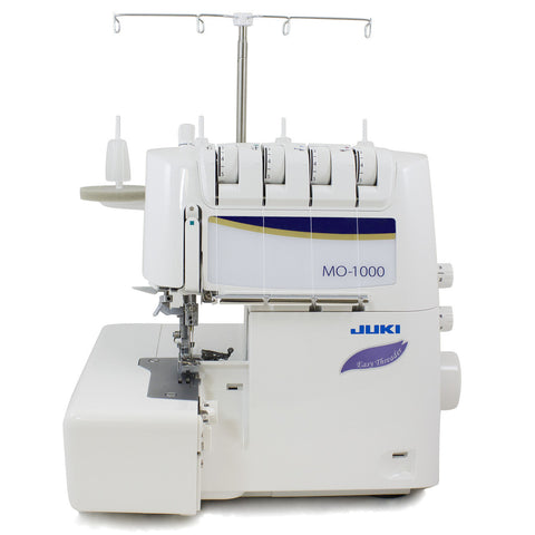 Juki Serging Machines Effortless Threading With The Power Of Air - MO-1000