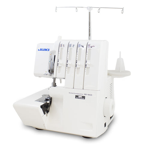 Juki MO-104D 2-Needle, 3/4-Thread Overlock Machine with Differential Feed