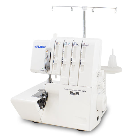 Juki MO-114D 2-Needle, 3/4-Thread Overlock Machine with Differential Feed