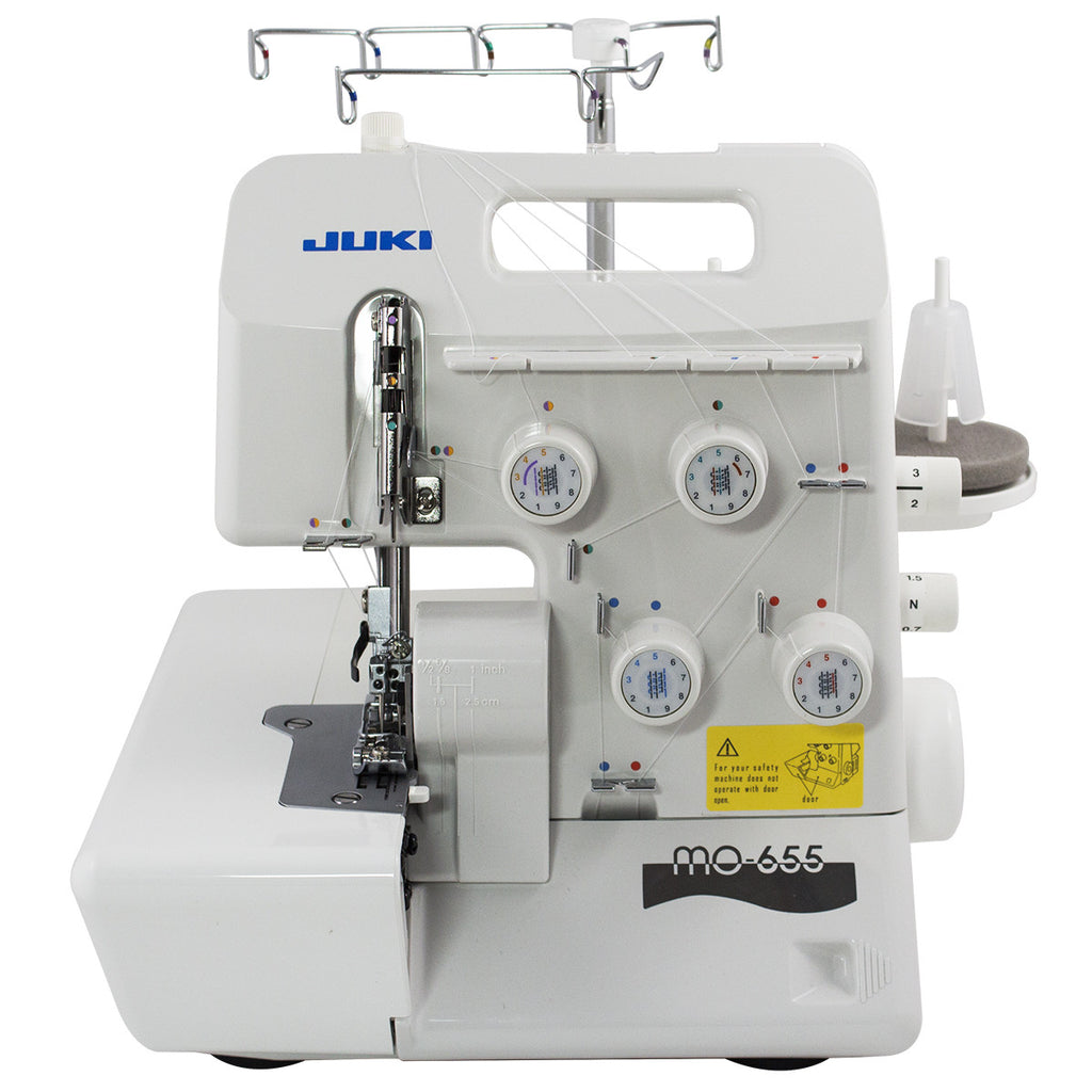 Juki 2-MO-655 Needle, 2/3/4/5-Thread Overlock Machine with Differential Feed and Micro Safety Switch