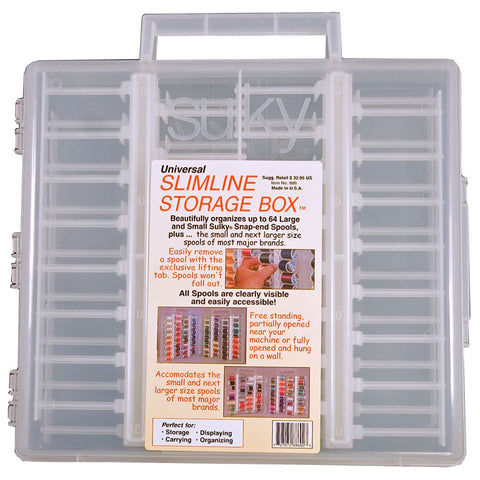 SULKY UNIVERSAL THREAD STORAGE SLIMLINE BOX