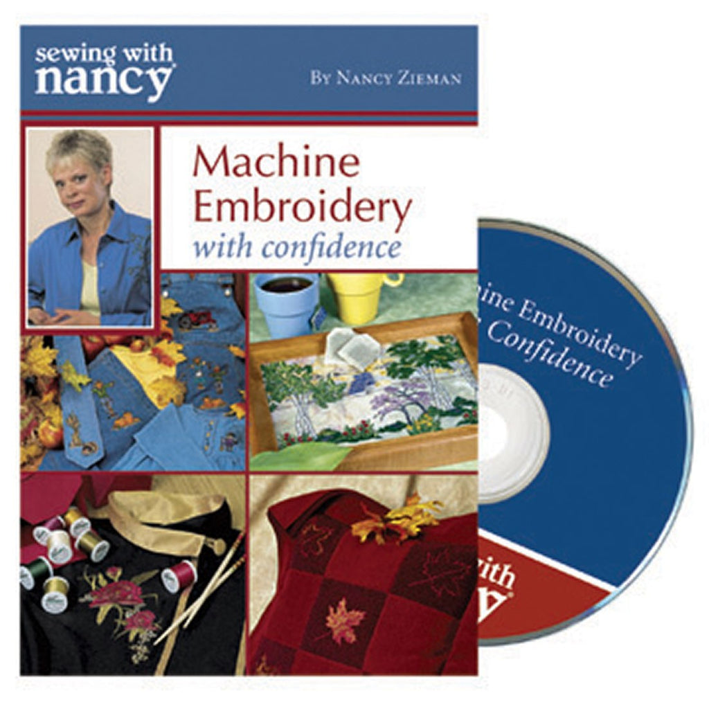 MACHINE EMBROIDERY WITH CONFIDENCE DVD