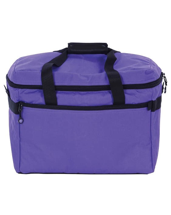 Bluefig Project Bag- Purple Includes Embroidery Arm Custom Foam Inserts for Small Embroidery Units