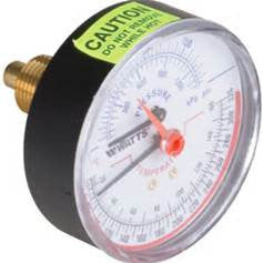 Gauge - Temperature Center Mount
