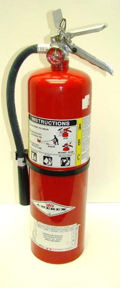 Fire Extinguisher - 10# with Cover