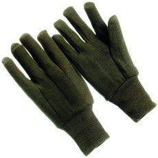 Glove - Brown Jersey, cotton (SOLD BY THE EACH)