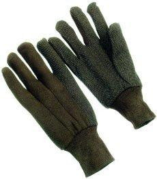 Glove - Jersey Gloves With Dots On Palm (SOLD BY THE EACH)
