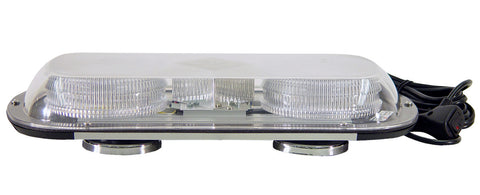 Light - Low-Profile LED Mini Bar Perm Mount Amber/White 12 V